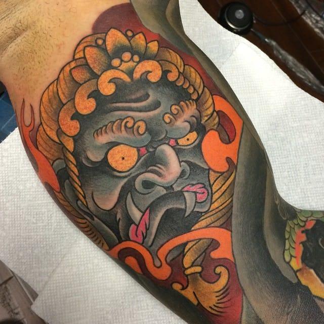 Fudo Tattoo by Jose Rosado