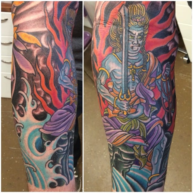 Fudo Tattoo by Kyle Franklin