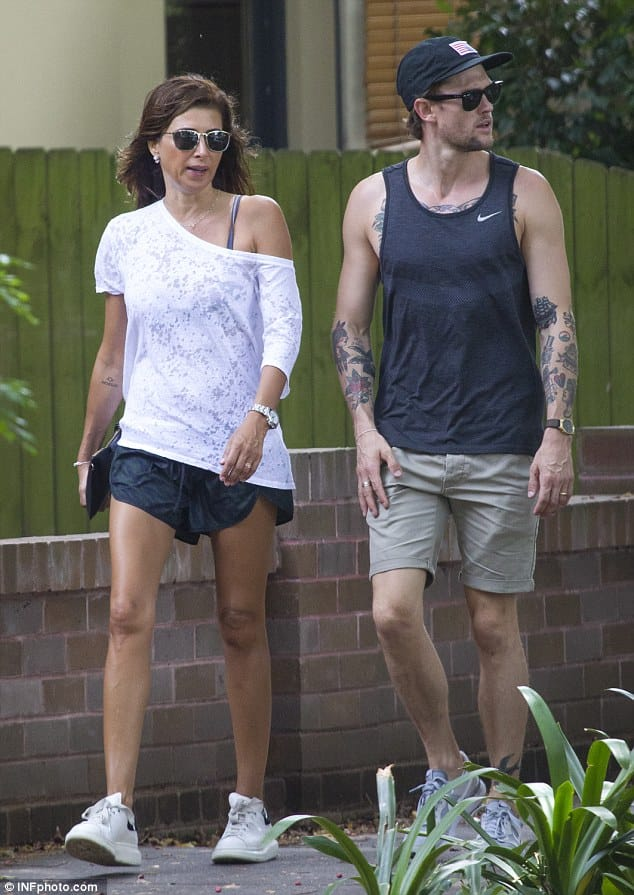 Jodhi Mears And Husband Get Matching Love Tattoos