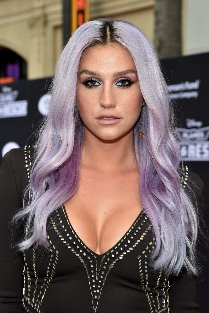 "Kesha Flashes ""Fuck The World"" Ankle Tattoo"