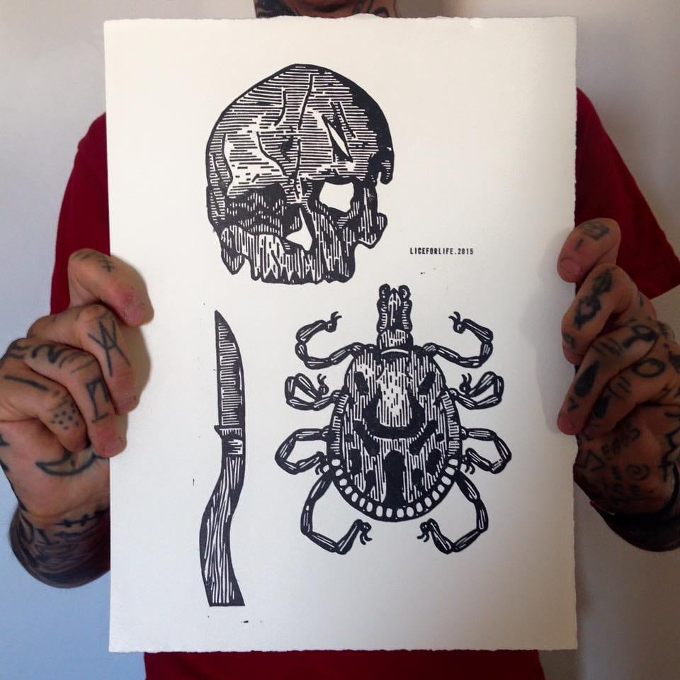 Lice For Life: Creepy Crawly Art By Simon Bethell