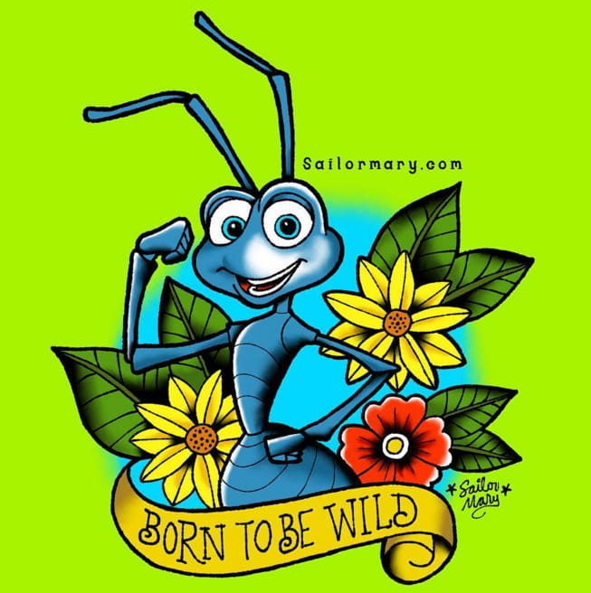 Flik from A Bug's Life.