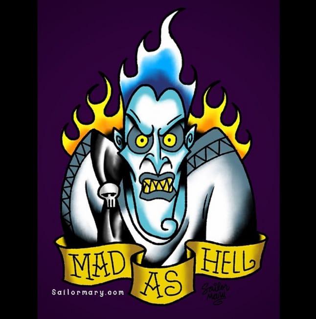 Hades from Hercules.