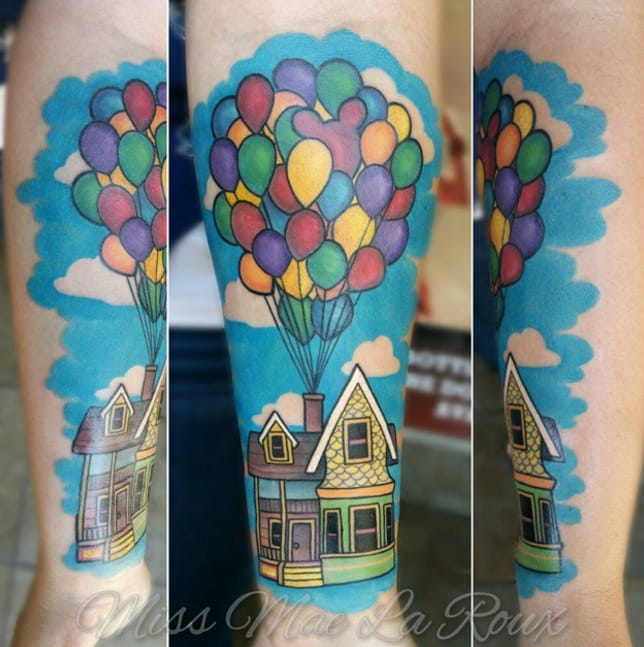 Bright and colourful house by Mae La Roux.