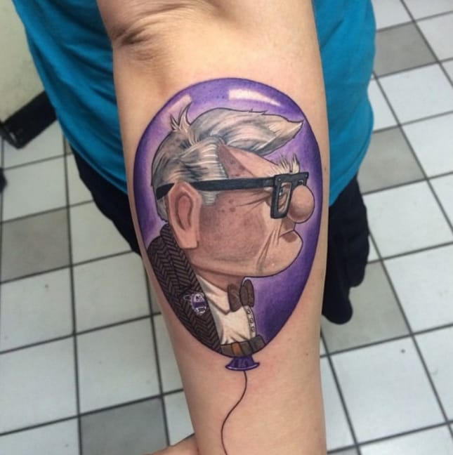 The Disney Adventure Never Ends: More Amazing Up Tattoos