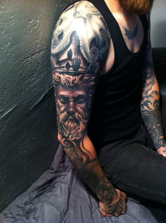 Mid arm Piece by Tommy Montoya