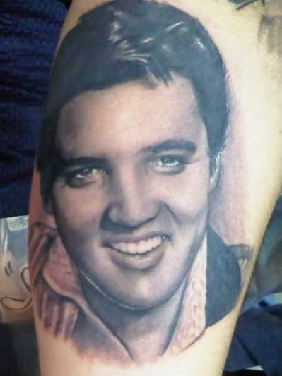 Elvis by Tommy Montoya