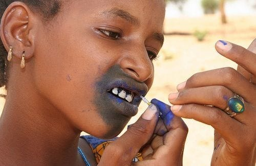 EXTREME BODY ART: Gum Tattooing In Senegal