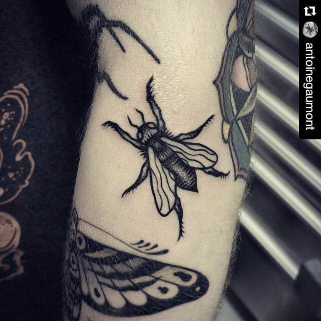 Tattoo by Antoine Gaumont