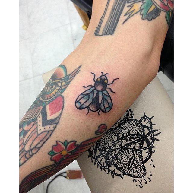 Fly Tattoo by Sara Piroddi