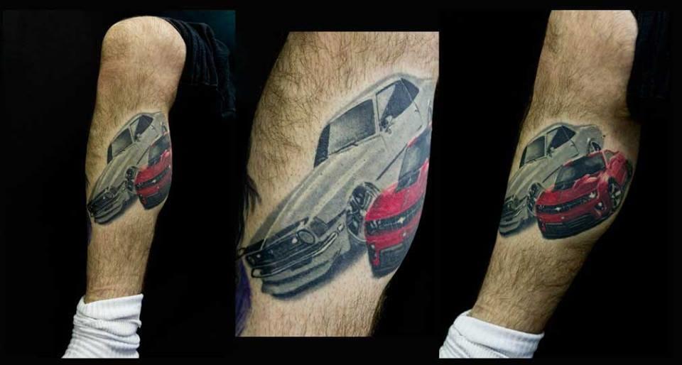 A paixão por carros!