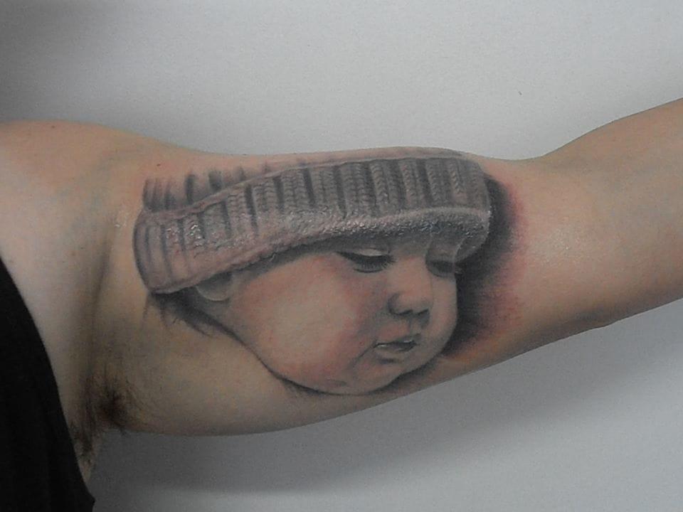 Mais um portrait de bebê!