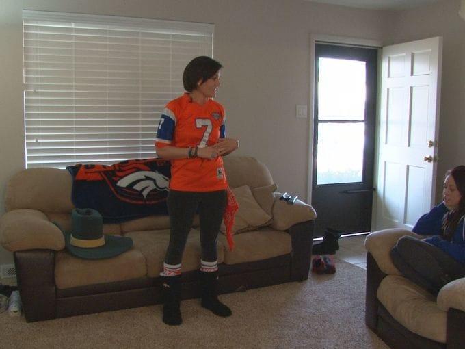 Cara Alire Is A Broncos Superfan