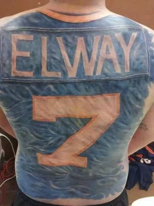 Crazy Elway Backpiece
