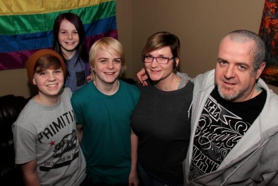 The Peace family/ Photo credits: Metro News