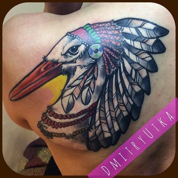 Native stork by Dmitry Utka.