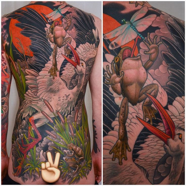 Epic backpiece by Peter Lagergren!