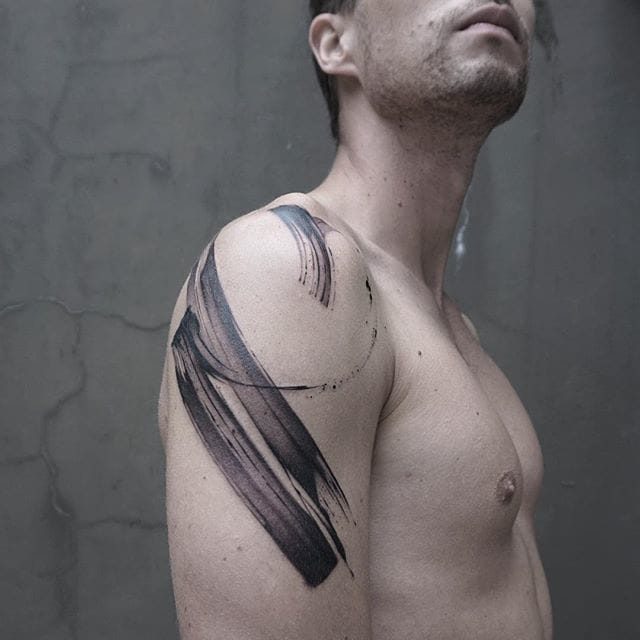 The Bold Brushtroke Tattoos Of Lee Stewart