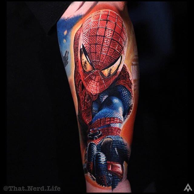 Stunning Spiderman by Luka Lajoie.