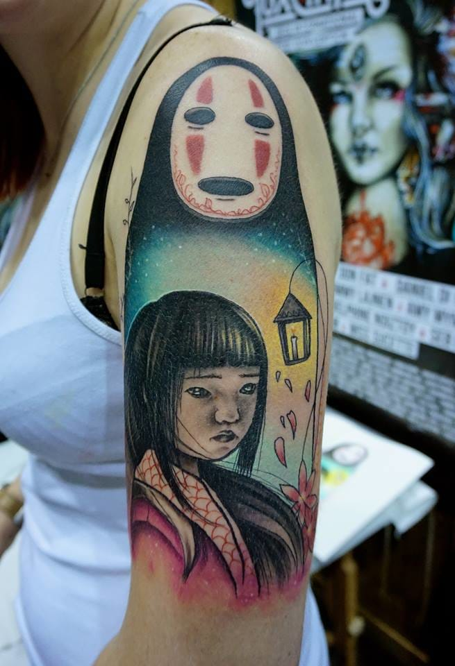 Artistic Spirited Away piece by Miss Sucette.