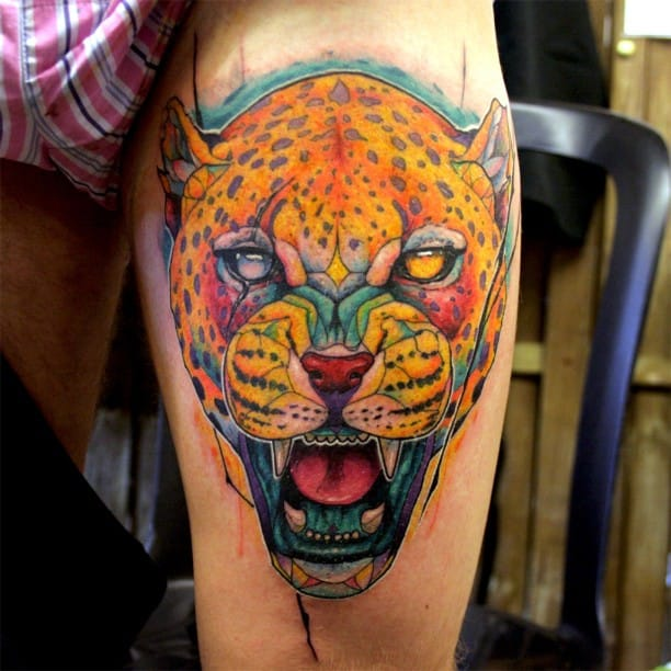 Fierce tattoo!
