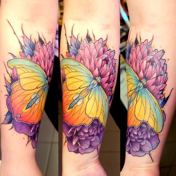 Elegant butterfly.