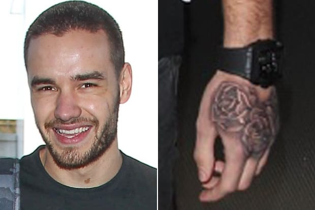 Liam Payne Flashes New Hand Tattoo