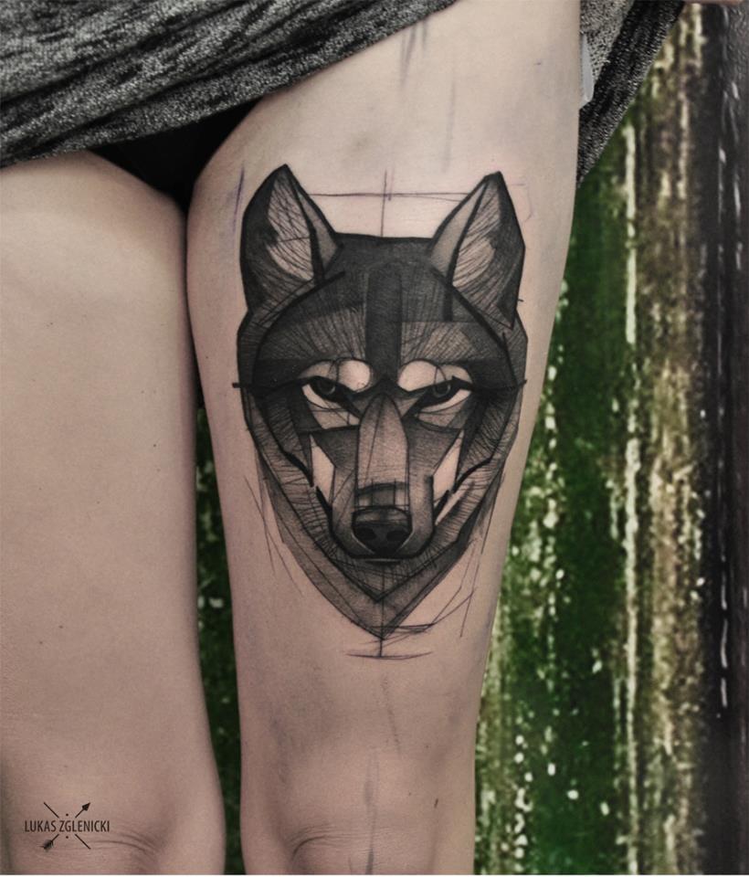 Artistic Tattoos By Lukas Zglenicki