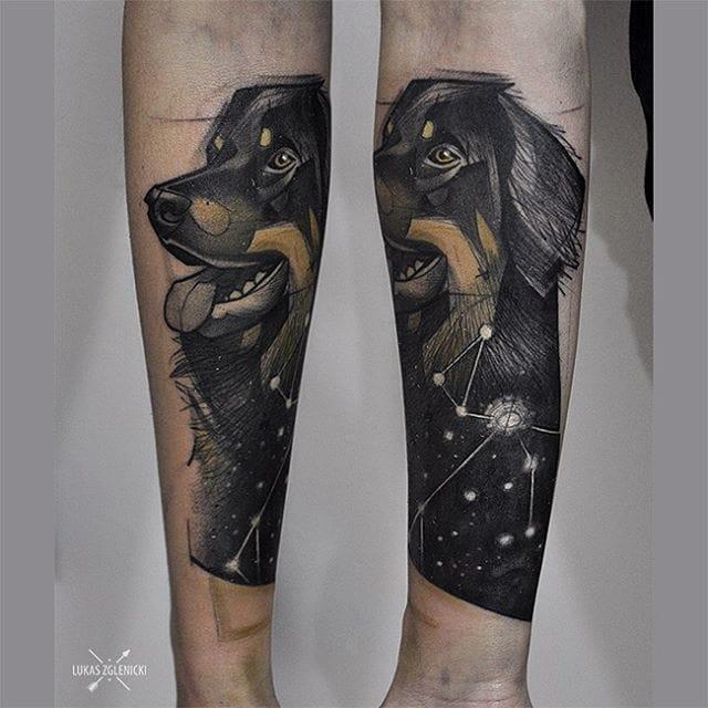 Beautiful cosmic dog.