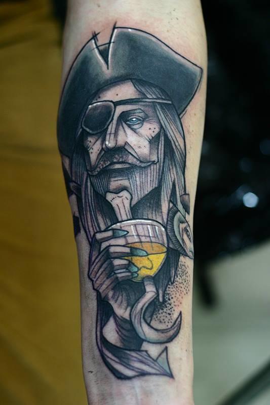 Terrific pirate by Lukas Zglenicki