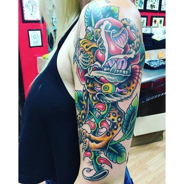 Tattoo by Joshua Snyder