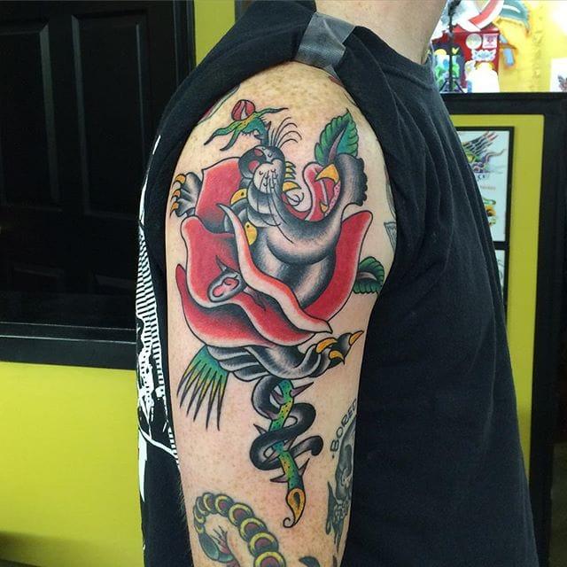Tattoo by Tad Peyton