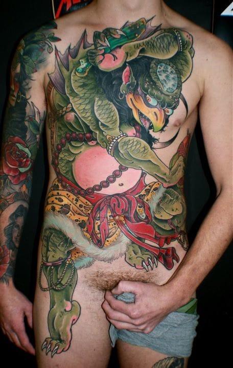 Kappa Tattoo by Matty D Mooney