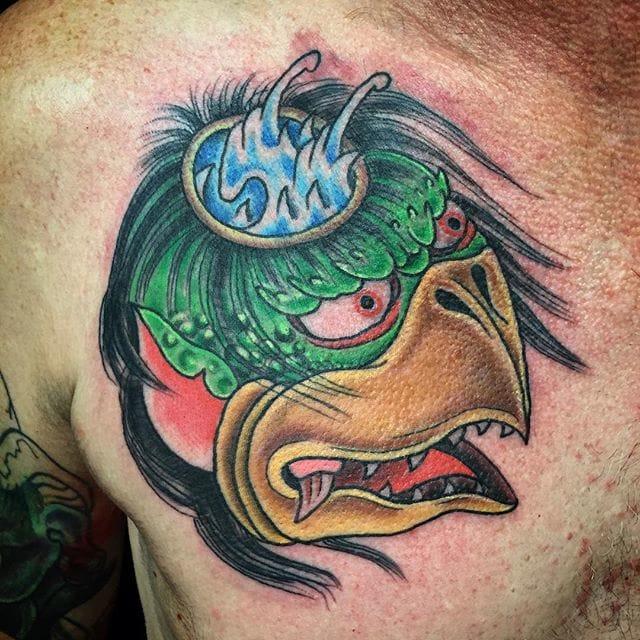 Kappa Tattoo by Terry Frank