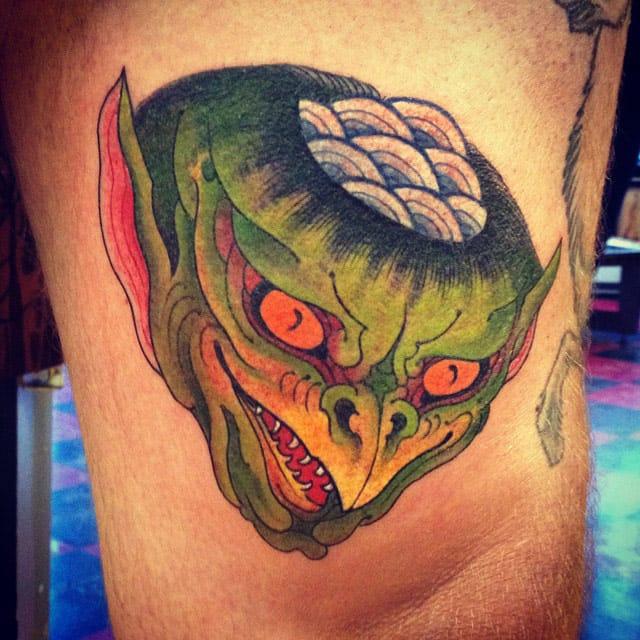 Kappa Tattoo, artist unknown