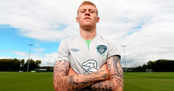 James Mcclean Tattoo