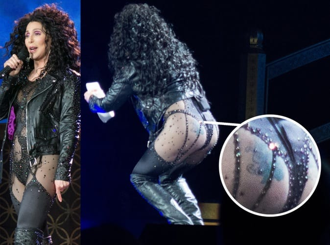 Celebrities With Inked Butts!