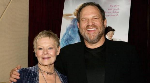 Judi Dench and Harvey Weinstein, or should I say JD loves HW?