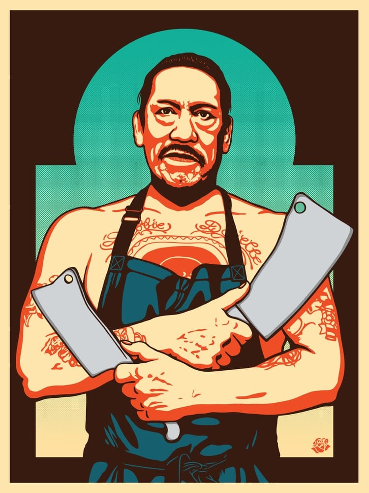 Art for Trejo's Tacos made by Ernesto Yerena