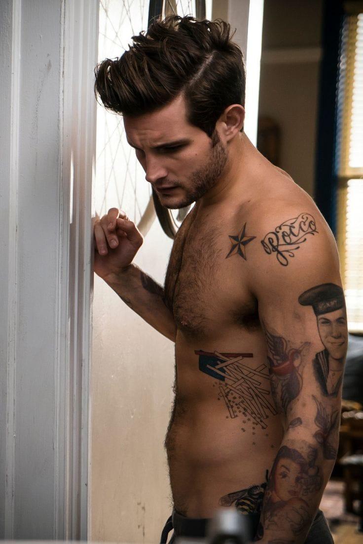 Actor Nico Tortorella's Naughty New Tattoo