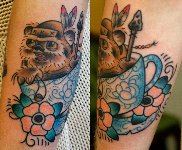 What did I just say? Now, it is an Ewok! By El Sanchez.