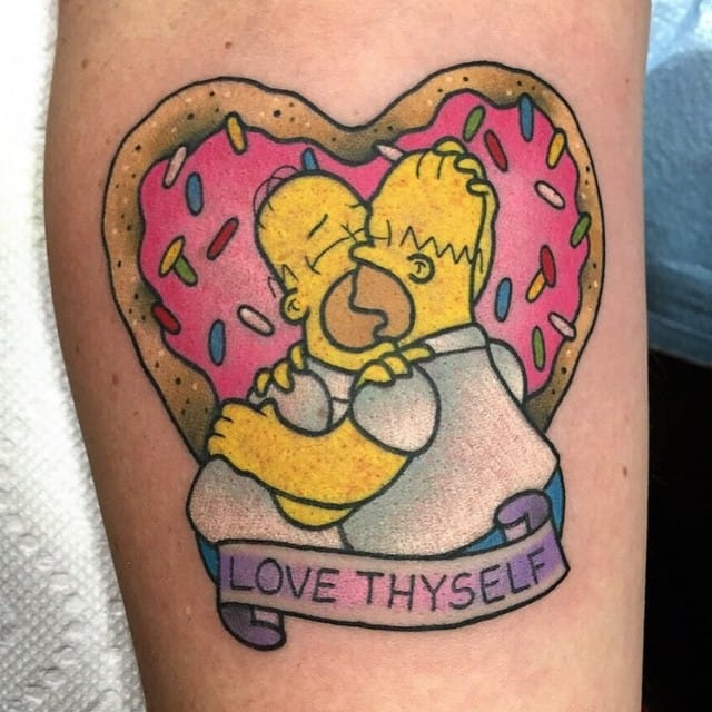 Instagram Tattoo Filter: Get Your Daily Dose Of The Simpsons Tattoos On Instagram