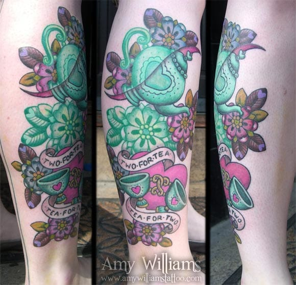 Lovely colors, by Amy Williams.