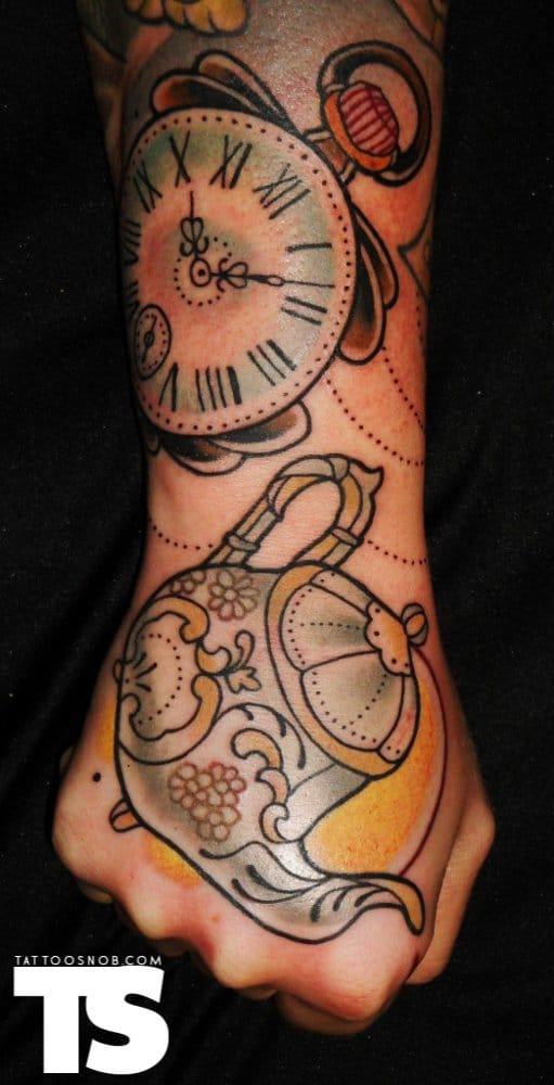 Hand tattoos by Adriaan Machete.