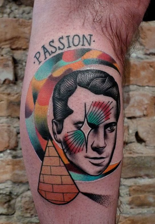 Surreal Portrait Tattoos by Mariusz Trubisz