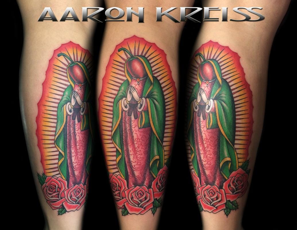 6 Silly Chili Pepper Tattoos