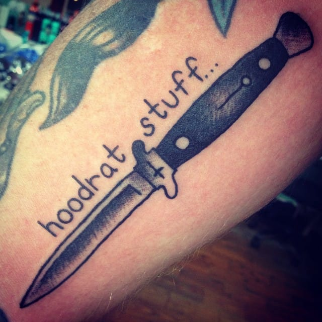 Switchblade Tattoo by Caleb Morford