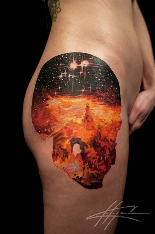 We are all made up of stars. Nick Chaboya, Seventh Son Tattoo