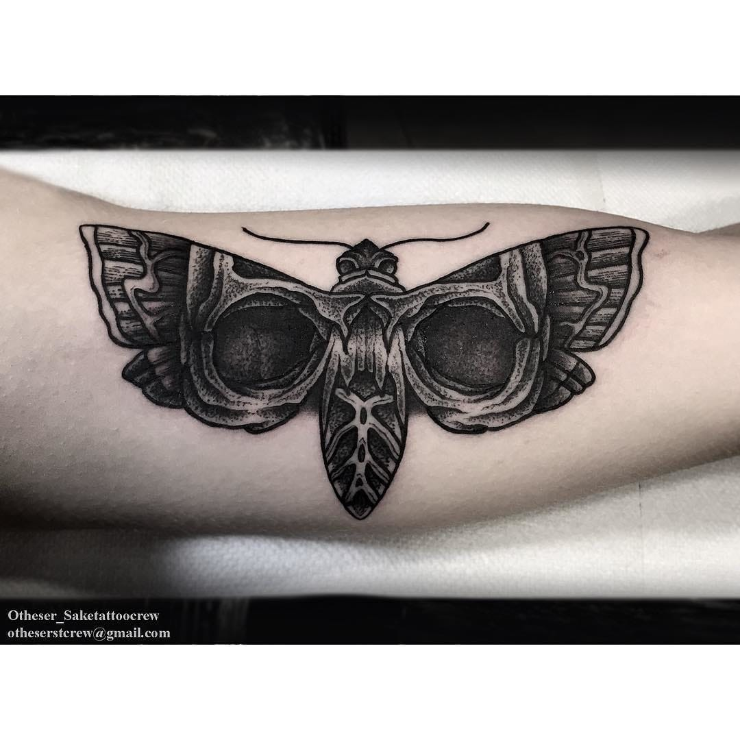 Solid tattoo and cool design concept from Otheser_Saketattoocrew