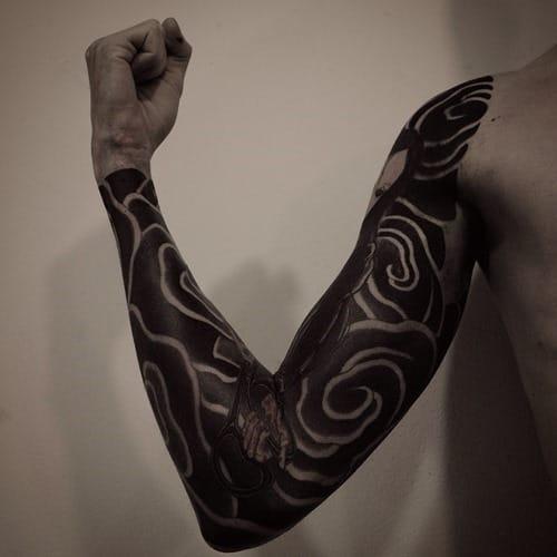 Black sleeve by Gakkin